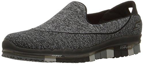 Skechers Damen GO Flex Sneakers, Schwarz (BBK), Gr.36 EU