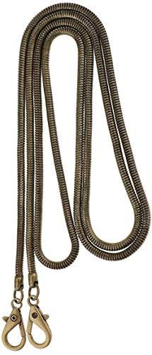 NOBRAND 1 stuk platte portemonnee ketting riem vervanging handtas tas accessoires met metalen gespen 47 inch lang