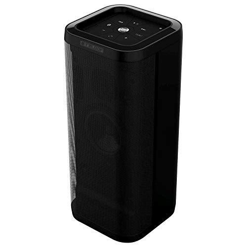 """100 W tragbarer Bluetooth Lautsprecher, Massive Bass-Performance durch 6"""" Tiefton-Treiber, 10 Std Akku, 30 m Reichweite, Schwarz - Reloop Groove Blaster BT"""