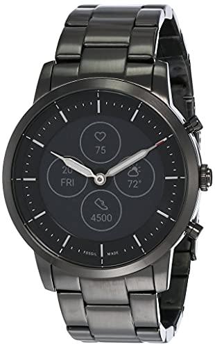 Fossil Collider Hybrid Hr Smartwatch Black Dial Men's Watch...