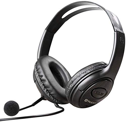 Raxinbang Auriculares Auricular For Juegos, Bajo Envolvente Srereo Auriculares De Los Auriculares del Auricular con Micrófono For Juegos/iPad MP3 PC con Conexión De Cable