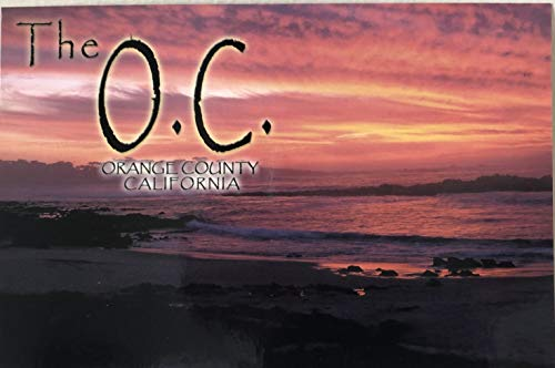 The O.C. Orange County California Post Cards - Four (4)