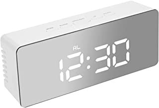 Digital Clock LED Display Desk Table Temperature Alarm Time Modern Home Decor