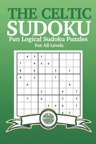 The Celtic Sudoku Puzzle Book | Glasgow Celtic Football Club Fan Gifts Shop: Glasgow Celtic Fan Gifts For Men & Women To Relax