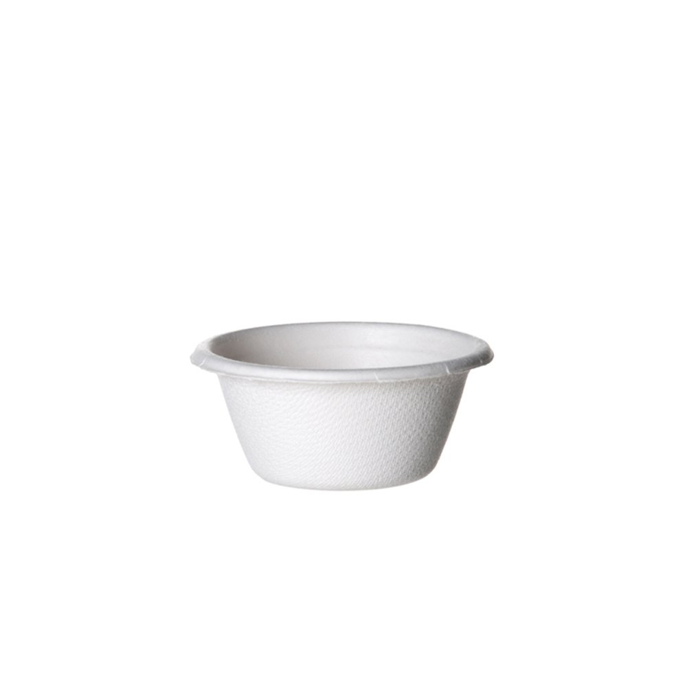 Eco-Products - Renewable & Compostable Portion Cups - 2 oz. Sugarcane Portion Cup - (Case of 2,500) EP-SPC2