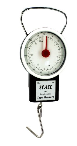 Luggage Scale - Hand Held - With Tape Measure By...