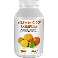 NON-ACIDIC VITAMIN C WITH NATURALLY-OCCURRING BIOFLAVONOIDS – Provides a pure, non-acidic Vitamin C formula and naturally-occurring Bioflavonoids. Promotes the greatest utilization of Vitamin C without the stomach discomfort, loss of potency and rapi...