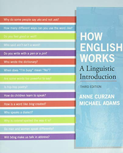 How English Works: A Linguistic Introduction