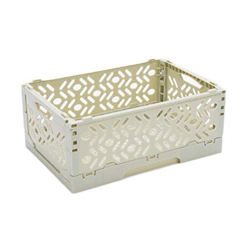 BOX Piel Joyería Caja de Almacenamiento de Cosméticos de Plástico Plegable Inicio...