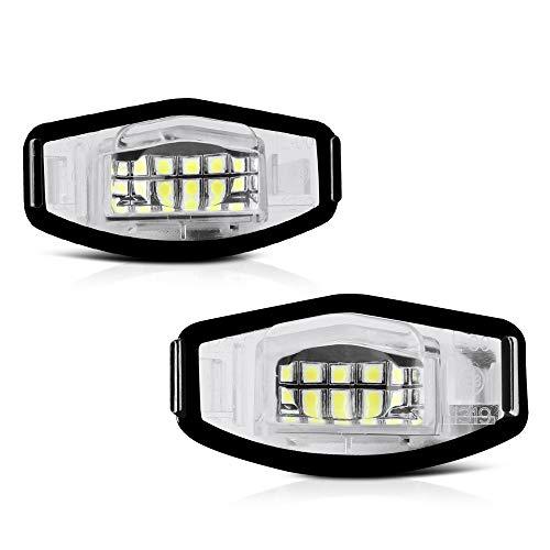 2012 Acura TSX License Plate Light Bulbs