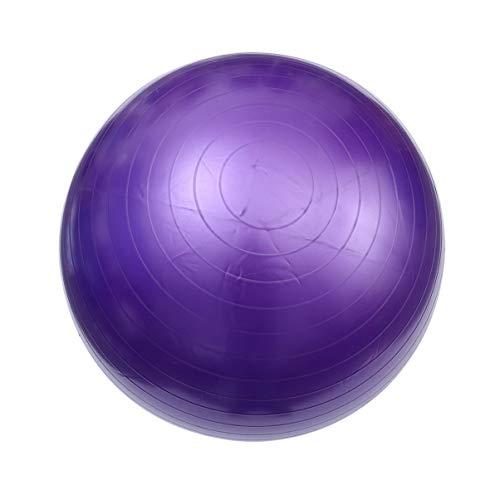 BESPORTBLE Balance Ball Gymnastikball Yoga Ball für Sporttraining Pilates Fitness Lila 85Cm