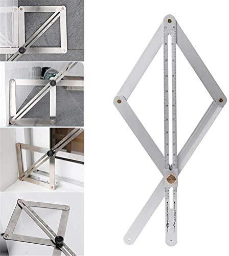 JiangGuiFei Deckenverkleidung Diagonale Lineal Winkelmesslineal, Winkelmesslineal, Winkelmesslineal Für Die Holzbearbeitung