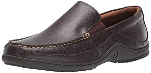 Tommy Hilfiger Men's Kerry Loafer, Dark Brown, 9