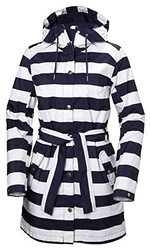 Helly Hansen 352 Essential, Abrigo impermeable para Mujer, Azul (Azul 690), Medium