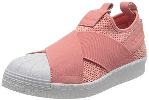 adidas Superstar Slipon W, Zapatillas de Deporte Mujer, Rosa (Rostac/Rostac/Ftwbla), 37 1/3 EU