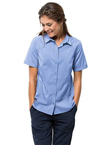 Jack Wolfskin Sonora Femmes, Shirt Blue, XS