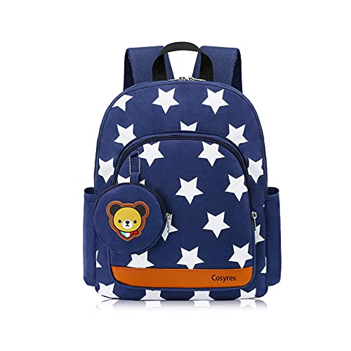Cosyres Star Toddler Kids Backpack Rucksack for Boys/Girls Kindergarten...
