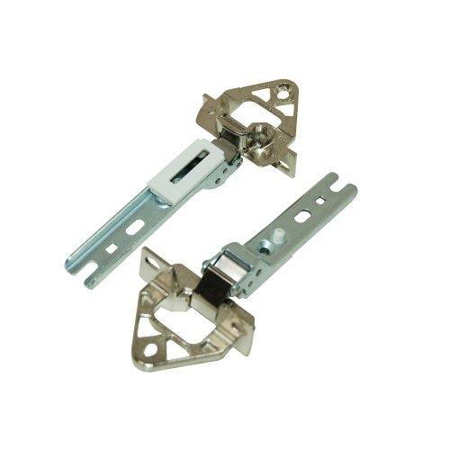 Bosch 268698 akcesoria do lodówki / drzwi / zawiasy drzwiowe 2 sztuki Bosch Siemens Neff Constructa / oryginalne do wbudowanych lodówek