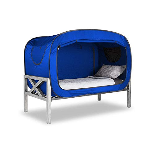 KUSAZ Privacy tent beach mosquito nets can be folded to protect and change clothes for outdoor indoor beds-blue