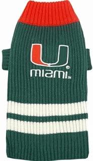 Pet Care Preferred Miami Hurricanes Dog Sweater