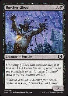 Magic The Gathering - Butcher Ghoul - Duel Decks: Blessed vs Cursed