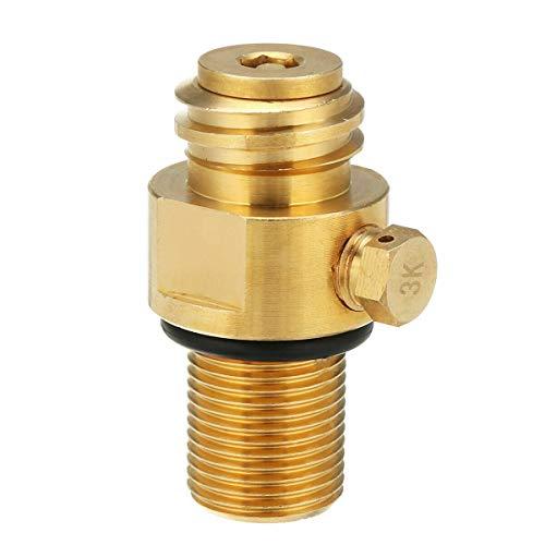 SunshineFace M18 x 1,5 Nachfüll-CO2-Pin-Ventil, Adapter Gewinde-Konverter für SodaStream