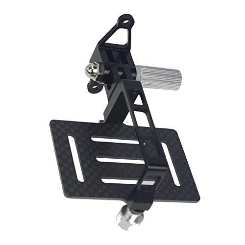 FUQUANDIAN Carbon Fiber PTZ antivibrazione Piastra di Montaggio for GoPro Eroe Action Cameras for DJI Phantom 1 2 FPV Drone Quadcopter del Giunto cardanico Monte Accessori Staffa