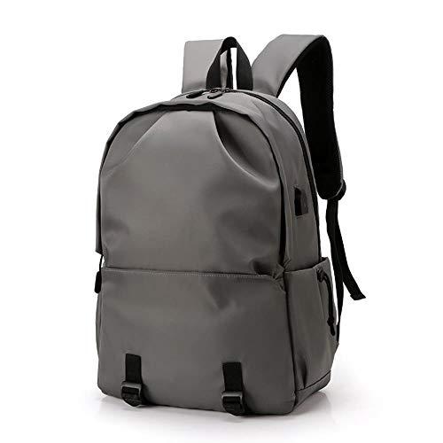 LJIEI mochila de los hombres casual de la moda mochila usb impermeable de la escuela bolsa de estudiante bolsa de deportes al aire libre