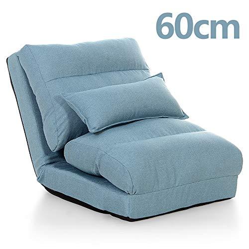 LLFFDC 1-zits klein 1-persoons opklapbare slaapbank met kussen voor tv kijken of gamen