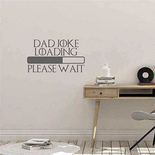 Laden, Bitte Warten Sie Auf Inspiration Design Wandbild Vinyl Aufkleber Bewegliches Wohnen Art Deco Home Decoration Wandaufkleber 58X106Cm