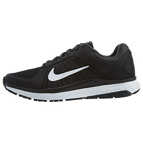 Nike Dart 12 MSL Zapatillas de running para hombre, color negro/blanco 7.5