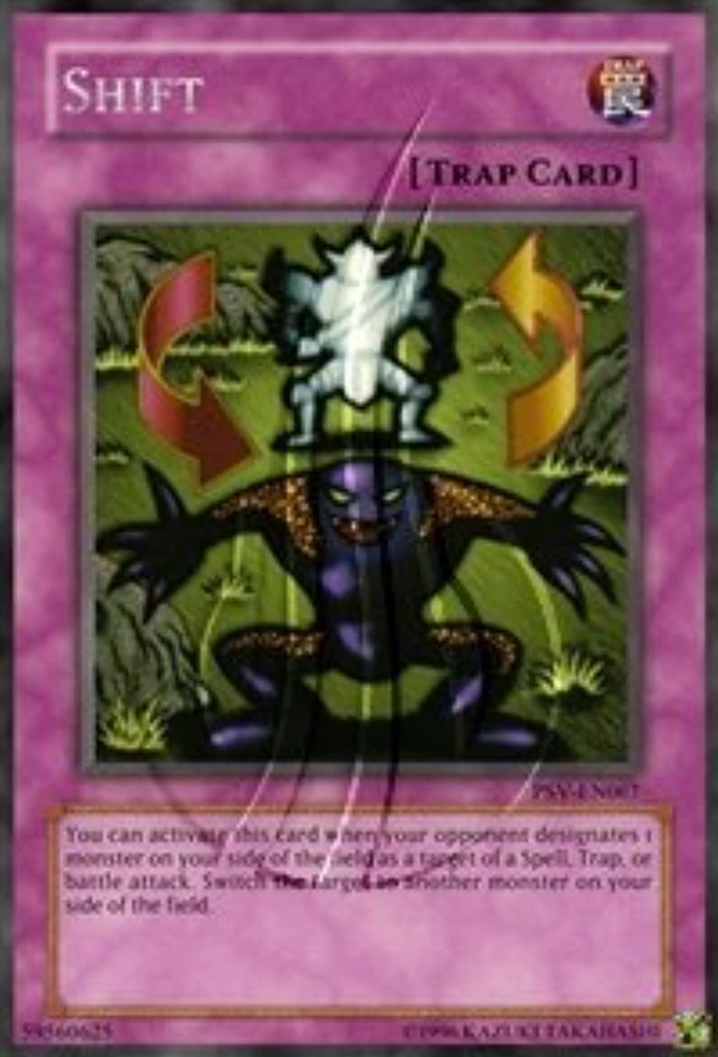 2002 Pharaoh's Servant Unlimited PSV67 Shift (R)   Single YuGiOh  Card in Predective Sleeve by Upper Deck by Upper Deck