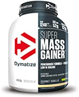 Dymatize Super Mass Gainer Gourmet Vanilla 2,9kg - Polvo Para Ganar Peso + Carbohidratos, BCAA y Caseína