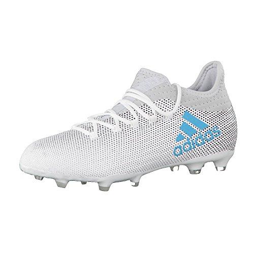 adidas adidas Herren X 17.1 FG Fußballschuhe, Mehrfarbig (FTWR White/Energy Blue S17/clear Grey S12), 36 EU