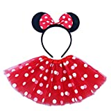 Mouse Tutu for Toddler Girls with Headband...