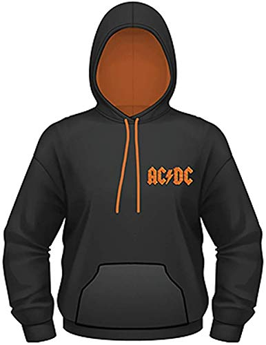 AC/DC - Let There Be Rock - Oficial Sudadera para Hombre - Negro, L