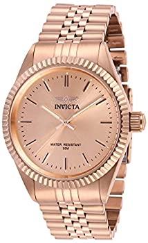 Invicta Men s Specialty Quartz Watch with Stainless Steel Strap Rose Gold 22  Model  29394