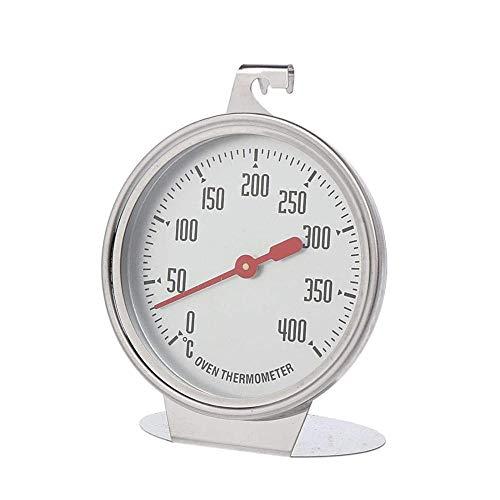 Termómetro para horno Termómetro de dial de pie Medidor de temperatura de cocina de acero inoxidable Suministros para hornear Termómetro Horno Sonda especial Termómetro Herramientas para hornear