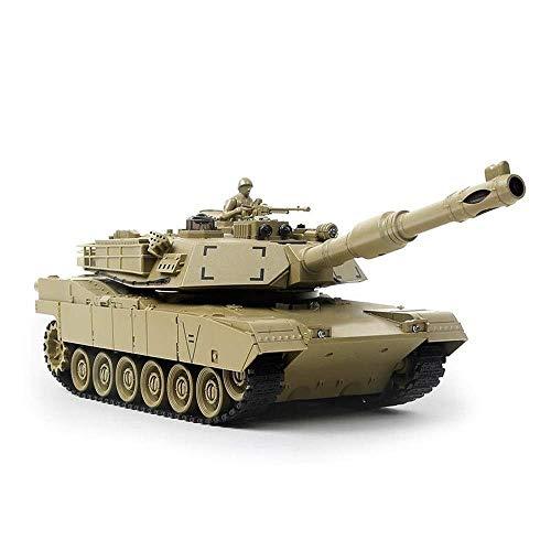 ZAKRLYB RC Seconda Guerra Mondiale Tedesco Tiger Serbatoio Modello Ricaricabile cingolati Possibile avviare Battle Tank Fuori Strada dell'automobile del Giocattolo con USB Charger luci LED Via Cavo a