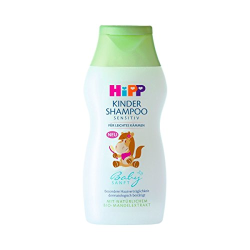 Hipp Babysanft Kinder Shampoo, 4er Pack (4 x 200ml)