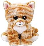 TY- Beanie Babies Cleo, gato, Color marrón, 15 cm (United Labels Ibérica 42305TY) , color/modelo surtido