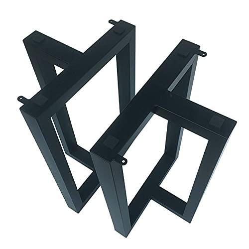 Soportes para patas de mesa de hierro forjado Patas de mesa de conferencias de oficina personalizadas Patas de mesa de comedor Patas de escritorio de mesa de té Soporte de barra de marco de mesa
