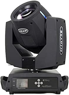 Ahlights 7R 230W Beam Stage Moving Head Light, DMX512 Channel Control, 14 Gobos and 14 Colors with Rainbow Effect For Stage Disco Club Lighting