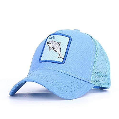 JXMK Cappellino da Baseball con Ricamo animale Gallo berretto da Baseball estivo regolabile Unisex