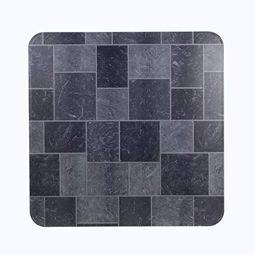 HY-C T2UL3636GT-1C Slate Tile Stove Board, UL1618 Type 2, 36' x 36', Gray