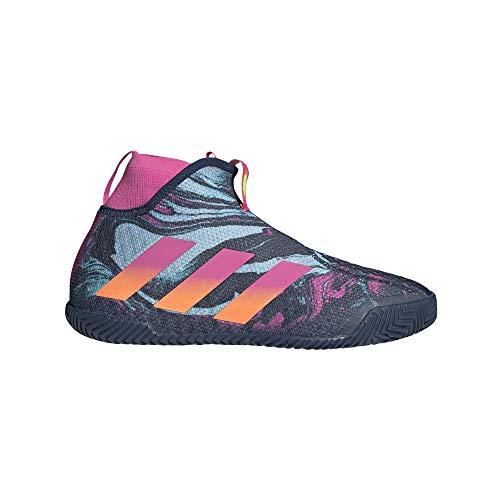 adidas STYCON M, Zapatillas de Tenis Hombre, Crew Navy/Screaming Pink/SCREA, 40 2/3 EU