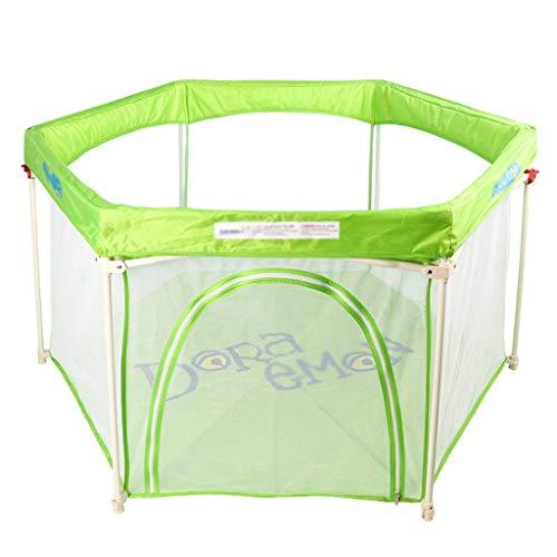 XZGang Tragbare Kinder Zaun, Infant Shatter feste Kleinkind Zaun Indoor Kleinkinderspielplatz/Integrated Design Raum für Kinder (Size : 140 * 75CM)
