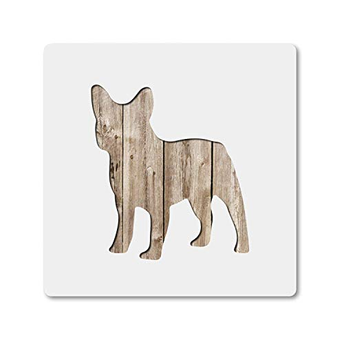 French Bulldog Dog, Stencil Pack Large 10 Inch and 5 Inch Plastic Mylar Stencil Painting, Walls, Crafts, Signs, ID 5355