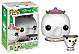 Funko Pop Beauty And The Beast (nº 92)- Figuras de vinilo de Mrs. Potts y Chip