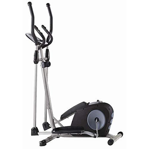 Bicicleta estática Entrenador elíptico Entrenador cruzado elíptico Bicicleta de ejercicio-Fitness Cardio Entrenamiento de pérdida de peso para el hogar Cardio Fitness Workout Gym (Color: Negro, Tama